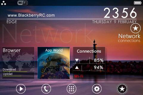 20 Free Themes For Blackberry Tour 9630