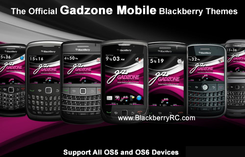 Official Gadzone Mobile theme ( 9300, 9330 os6.0 )