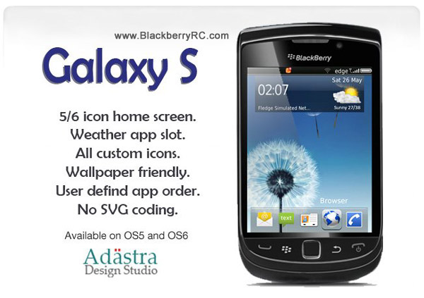 Samsung Galaxy S3 ( 9800 torch themes )
