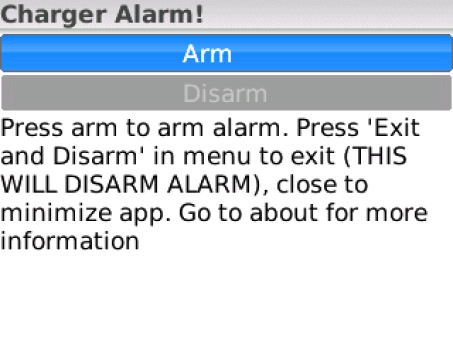 Charger Alarm 3.0 ( os5.0+ apps )
