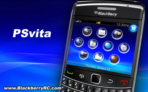 PSvita theme for BB 9000 os5.0 download