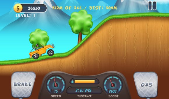 Hill Racing 1.0.0.20 for BB10 & Playbook