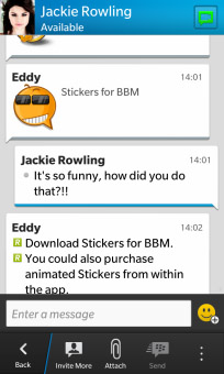 <b>Stickers for BBM™ v1.0.0.2 ( blackberry 10 apps</b>