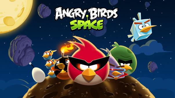 Angry Birds Space for blackberry 10 games