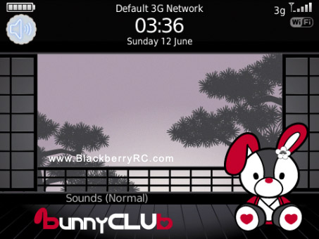 Bunny Club Japan 8520 themes for free dowload
