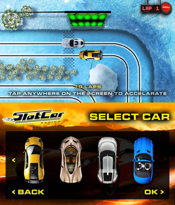 Slot Car Racing 1.4 for blackberry z10 games & playbook