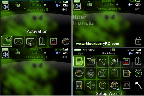 Misty Ghost for bold 9000 themes free download