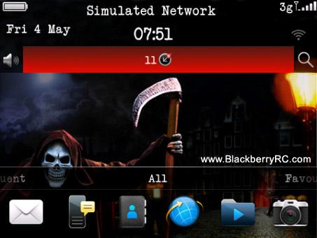 Grim Reapor for blackberry 9900 themes ota dowlnoad - free
