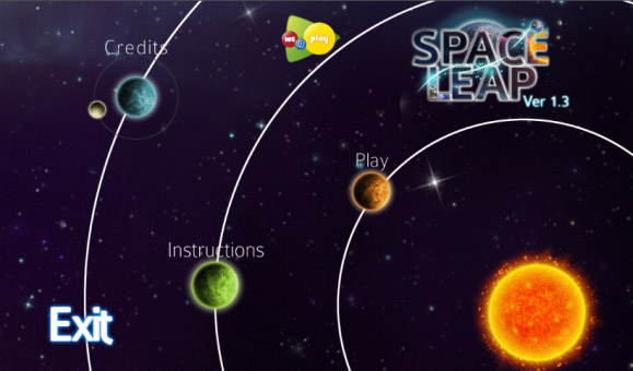 <b>Space Leap v2.0 for BB 10 / playbook games</b>