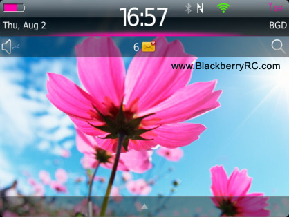 Pink Sharp theme for 9670, 9100, 9105 os6