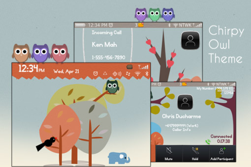 Chirpy Owl Theme (us $1.99)