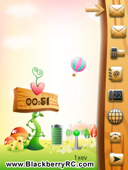 <b>Story Spring 3D Animated theme for torch 9800 os6</b>