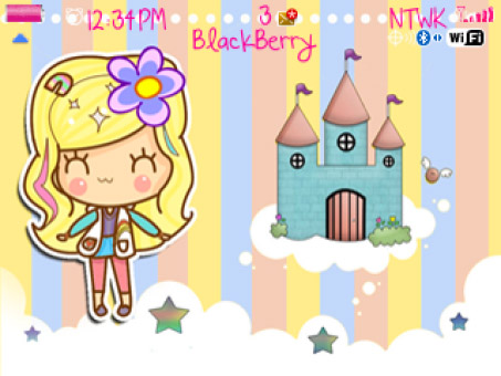 Little Princess blackberry theme (us $0.99)