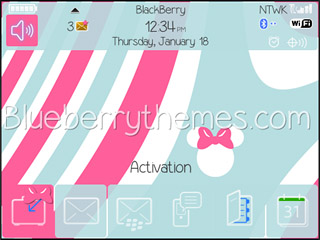 Minnie Pink theme for BB 85xx,93xx os5.0/4.6
