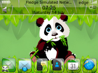 Cartoon Panda theme for 85xx,93xx themes