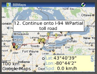 BBMaps v1.7.1 for os5.0 - 7.x apps