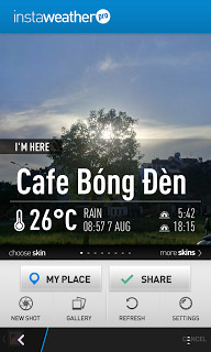 <b>InstaWeather Pro v1.1.6 for blackberry 10 apps</b>