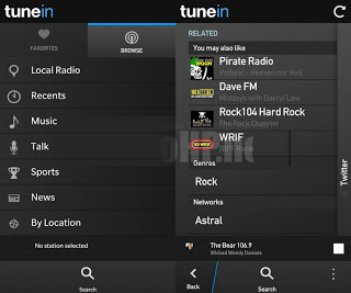 <b>TuneIn Radio Pro v8.0 for your blackberry 10</b>