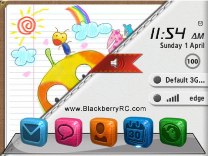 3D icon theme - Color Leather ( 85xx,93xx os5 )
