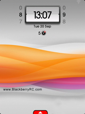 <b>Wave Sunny for Torch 9800 OS 6.xx theme</b>
