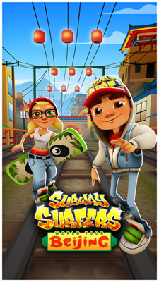 Subway Surfers 1.14.1 for blackberry 10 game