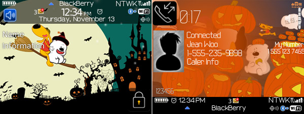 Happy Halloween theme for curve 85xx, 93xx | Tinhte vn