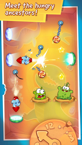Cut the Rope: Time Travel 1.1.1 for blackberry 10