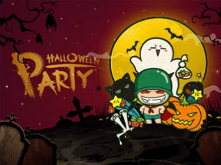 POPO HALLOWEEN PARTY wallpaper