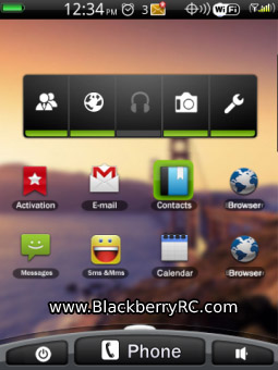 Droid style theme ( 9800 torch os6 )
