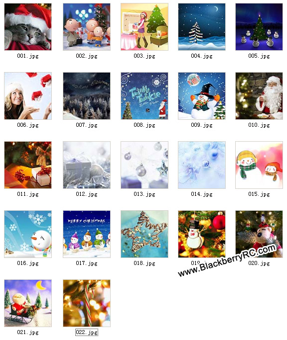 <b>A group of 720x720 Christmas wallpapers pack</b>