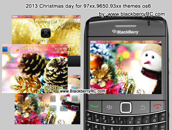 2013 Christmas day for 97xx,9650,93xx themes os6