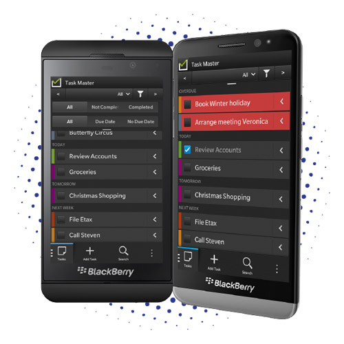 Task Master for BlackBerry 10 updated ‏ 2.2.0.3