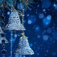 <b>Christmas bells for blackberry 10 wallpaper</b>