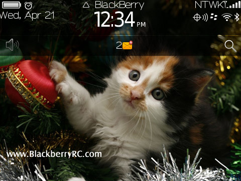 Christmas Cat for 93xx,9650,97xx themes