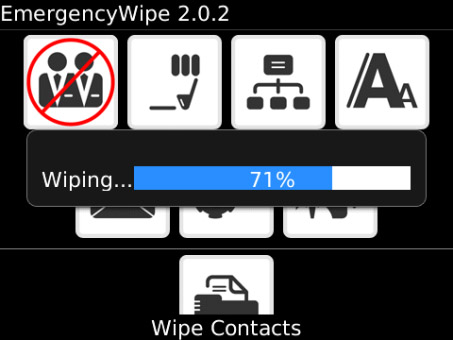 Weekend Special: EmergencyWipe for Legacy OS on discount‏