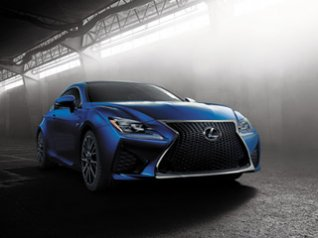 Lexus RC F 2015 for blackberry wallpaper