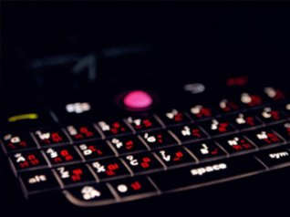 <b>Blackberry Phone keyboard wallpaper</b>