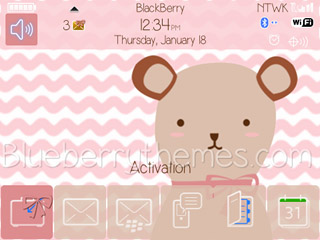 <b>Cute Bear theme for 93xx,97xx os6</b>