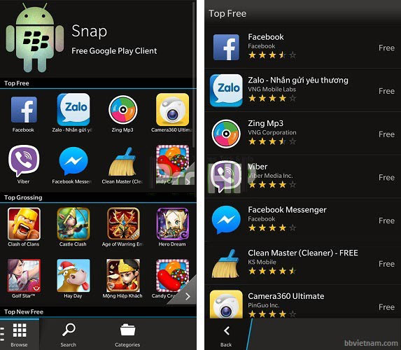 Snap 2.0.0.2 for BB 10 Apps