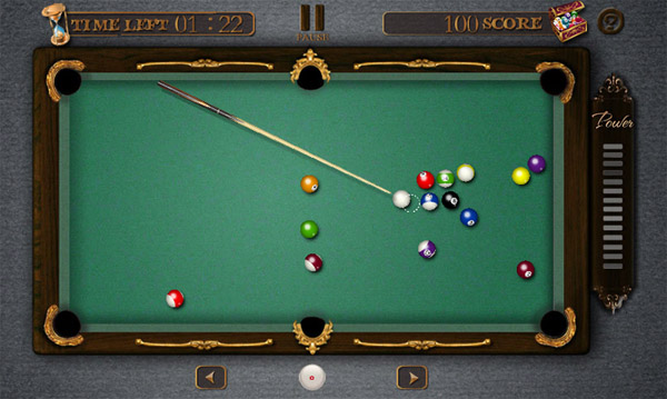 Pool Billiards Pro 2.49 for BlackBerry 10 game
