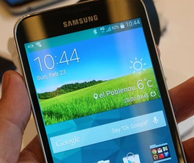 Samsung Galaxy S5 comes with six alarm tone