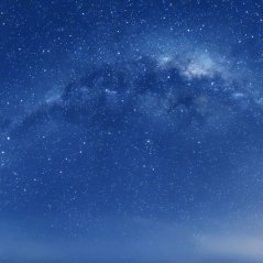 Blue Star for iOS 8 wallpaper