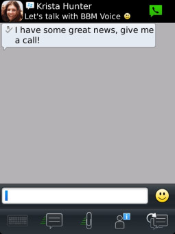 BlackBerry Messenger v8.5.0.18