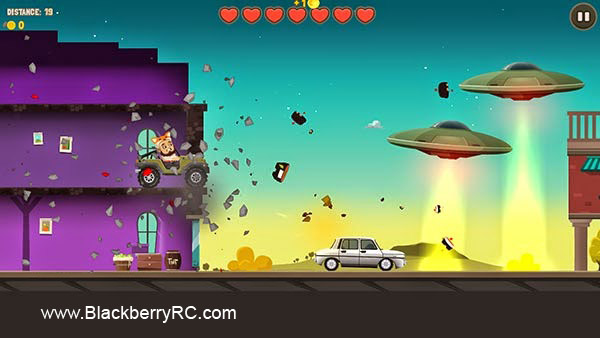 Aliens Drive Me Crazy v1.0.2 for BlackBerry 10 game