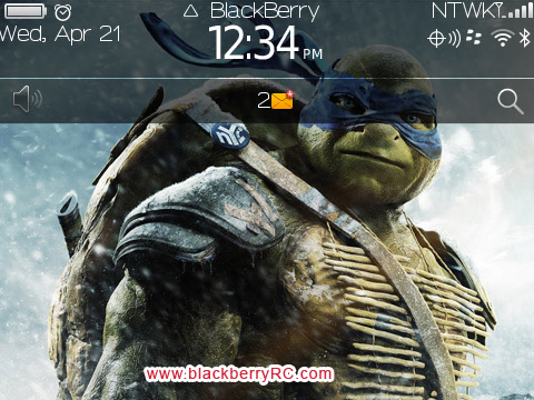 Teenage Mutant Ninja Turtles 2014 for BB 97XX THEMES