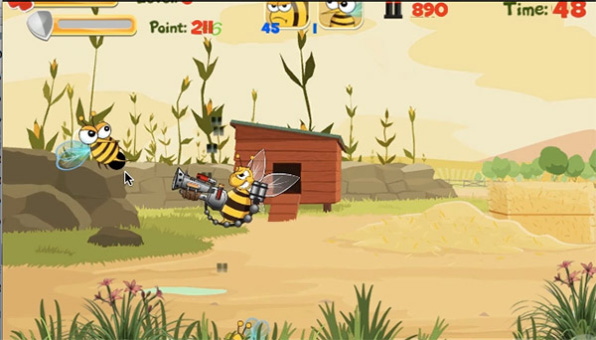Battle Of Bee 1.1.0.1 for BB Z10 game