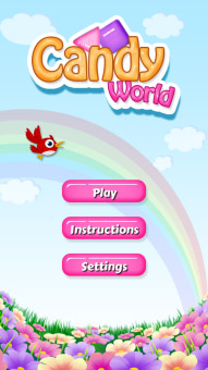 Candy World 1.0.2 for classic games