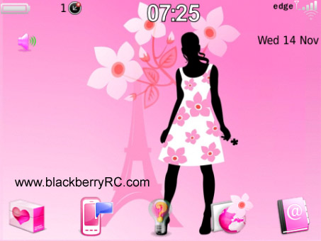 <b>Girly Fashion Icon 99xx bold Theme</b>
