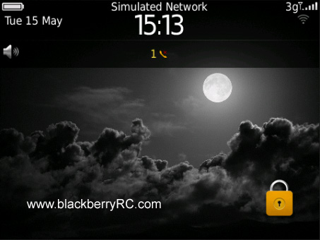 <b>Dark Moon 99xx bold Theme</b>