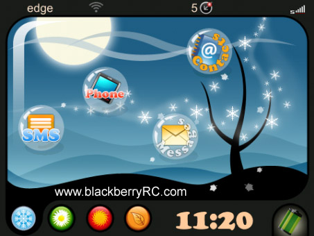 Seasons themes for Bold 99xx os7.x